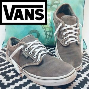 Vans Gray Classic Low Top Sneakers